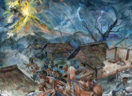 Sejarah Penamaan Gunung Guntur Dan Legenda Di Dalamnya