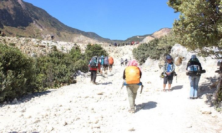 Cara Mendaki Gunung Papandayan