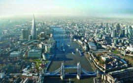 London-From The East to The Shard