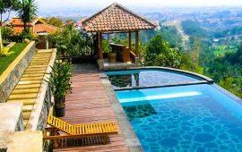 Daftar Villa Swiming Pool Terbaik Di Lembang Bandung