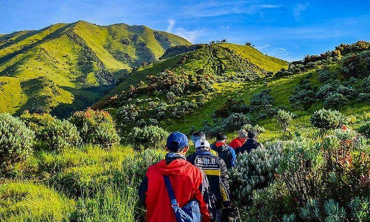 Jalur Selo Pendakian Gunung Merbabu