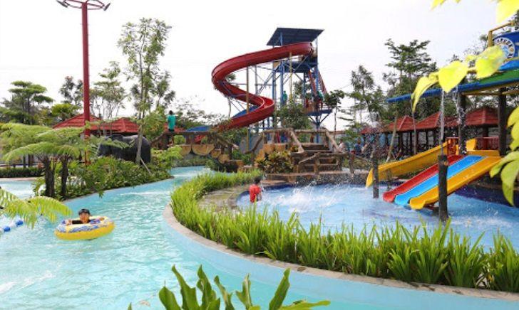 kolam arus rancaekek waterpark