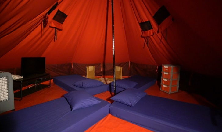 tenda glamping luxury