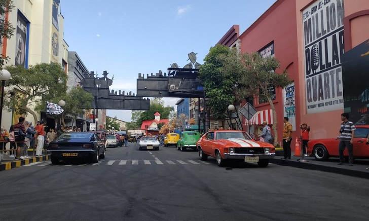 Zona Gangster & Broadway Street