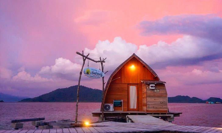 villa andreas pulau pahawang
