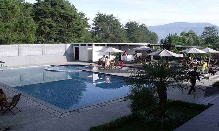 Kolam Renang The Radiant Villas