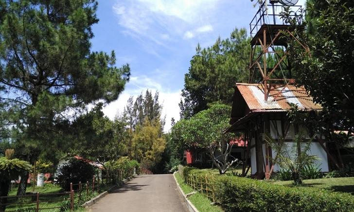 lingkungan observatorium bosscha