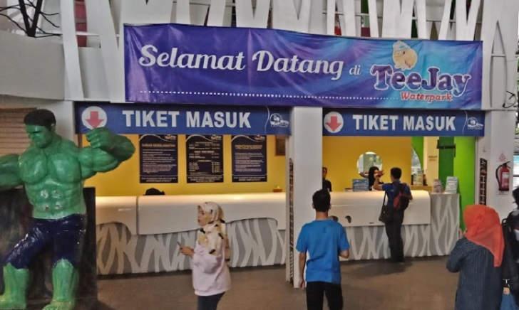 Tiket Masuk Teejay Waterpark