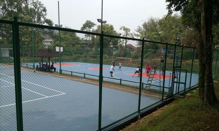 Lapang Basket Villa Duta